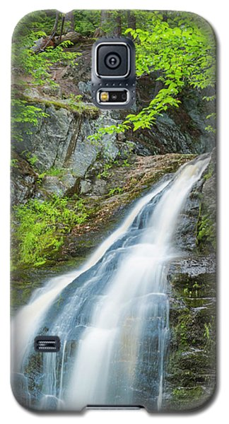 Cascade Waterfalls In South Maine Galaxy S5 Case
