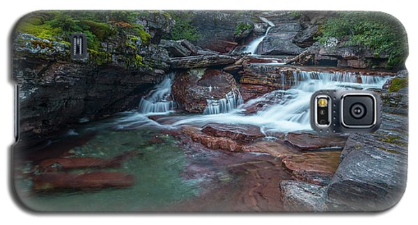 Galaxy S5 Case featuring the photograph Cascades by Gary Lengyel