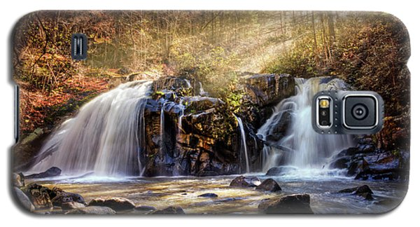 Galaxy S5 Case featuring the photograph Cascades Of Light by Debra and Dave Vanderlaan