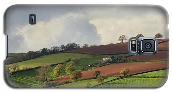 Caseberry Downs In Devon Galaxy S5 Case