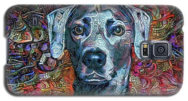 Cash The Blue Lacy Dog Galaxy S5 Case