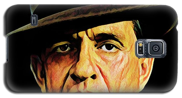 Cash With Hat Galaxy S5 Case by Gary Grayson