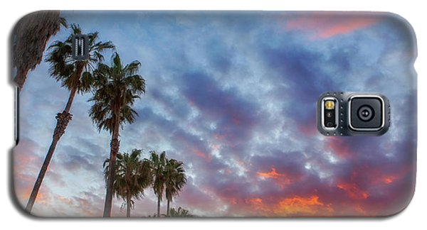 Galaxy S5 Case featuring the photograph Casitas Palms by John A Rodriguez