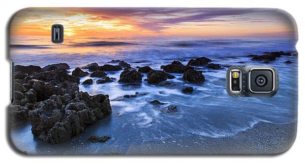 Casperson Beach Sunset 2 Galaxy S5 Case