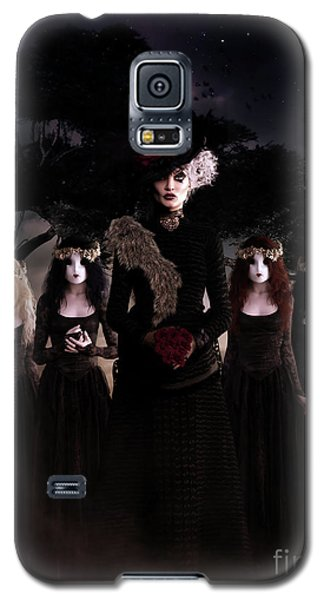 Galaxy S5 Case featuring the digital art Casquette Brides by Shanina Conway