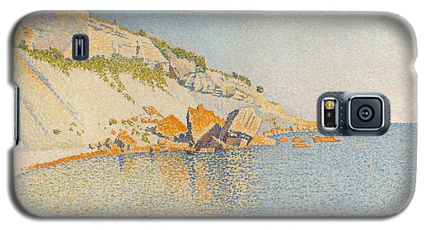 Galaxy S5 Case featuring the painting Cassis. Cap Lombard. Opus 196 by Paul Signac