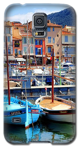 Galaxy S5 Case featuring the photograph Cassis Harbor by Olivier Le Queinec