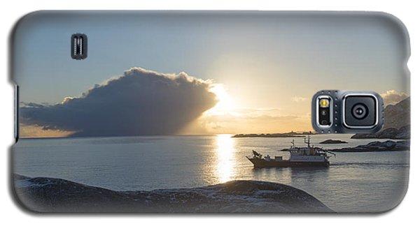 Cast A Giant Shadow... Reine Lofoten Galaxy S5 Case