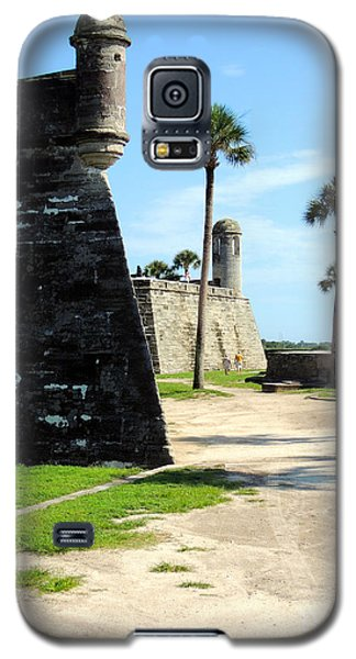 Galaxy S5 Case featuring the photograph Castillo De San Marcos St Augustine Florida by Bill Holkham