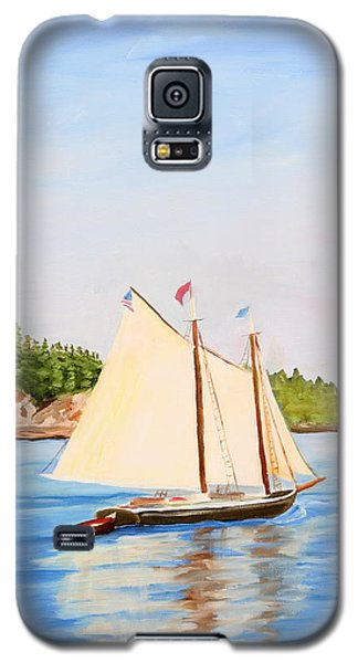 Castine Harbor And Dice Head Light Galaxy S5 Case