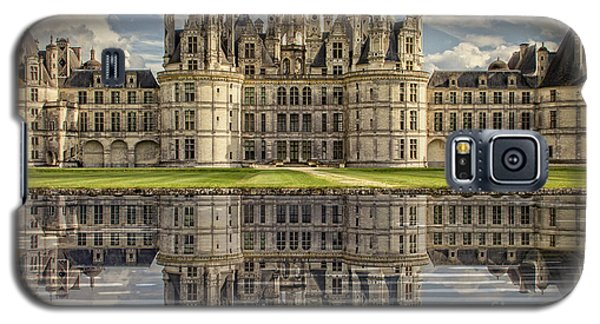 Galaxy S5 Case featuring the photograph Castle Chambord by Heiko Koehrer-Wagner