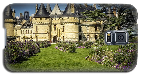 Galaxy S5 Case featuring the photograph Castle Chaumont With Garden by Heiko Koehrer-Wagner