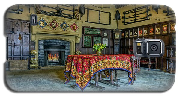 Galaxy S5 Case featuring the photograph Castle Dining Room by Ian Mitchell