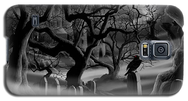 Castle Graveyard I Galaxy S5 Case by James Christopher Hill