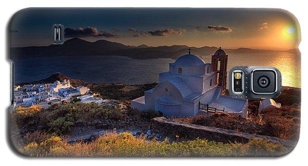 Castle In Milos At Plakas Galaxy S5 Case