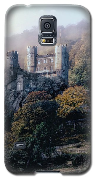 Galaxy S5 Case featuring the photograph Castle In The Mist by Jim Hill