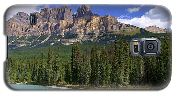 Castle Mountain Banff The Canadian Rockies Galaxy S5 Case