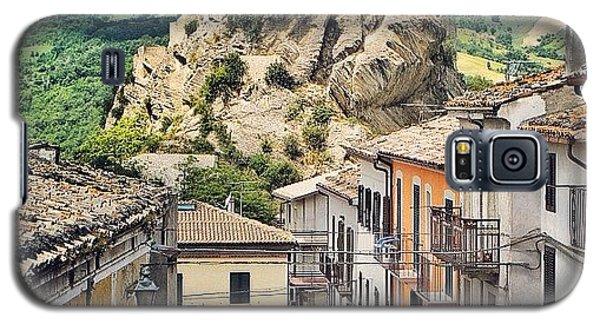 Castle Of Roccascalegna Galaxy S5 Case by Massimiliano Bellisario