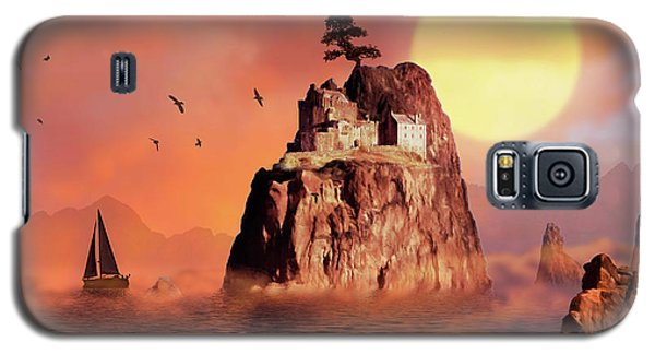 Castle On Seastack Galaxy S5 Case