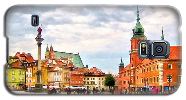 Castle Square, Warsaw Galaxy S5 Case by Maciek Froncisz