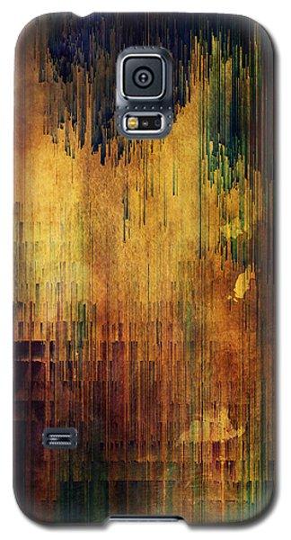 Castle View Planet Pixel Galaxy S5 Case