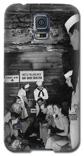 Castle Village Air Raid Shelter Galaxy S5 Case by Cole Thompson