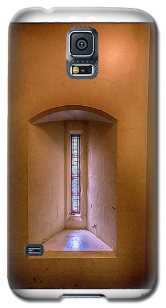 Castle Window Galaxy S5 Case by R Thomas Berner