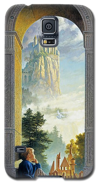 Castles In The Sky Galaxy S5 Case by Greg Olsen