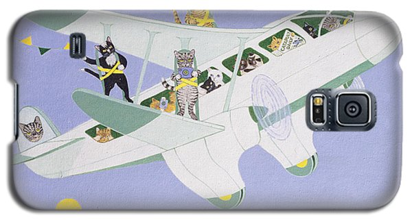 Cat Air Show Galaxy S5 Case