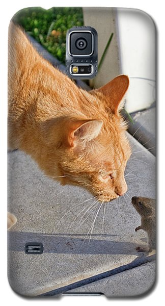 Cat And Mouse Galaxy S5 Case