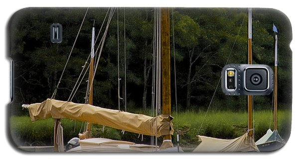 Galaxy S5 Case featuring the photograph Cat Boats by Michael Friedman