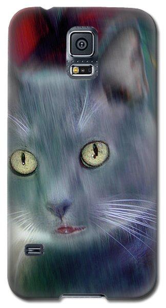 Cat Boticas Portrait 2 Galaxy S5 Case