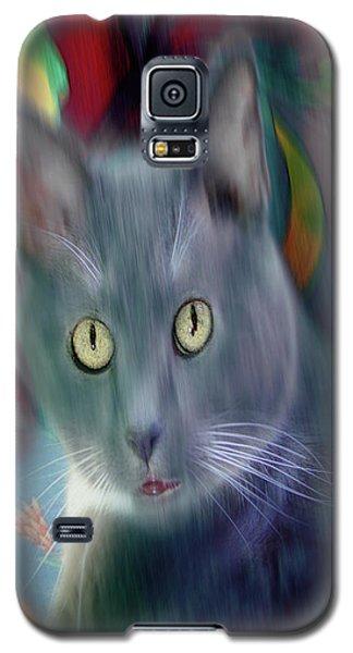 Cat Boticas Portrait 3 Galaxy S5 Case