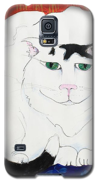 Cat II - Cat Dozing Off Galaxy S5 Case