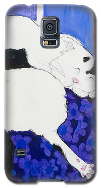 Cat IIi Peaceful   Galaxy S5 Case