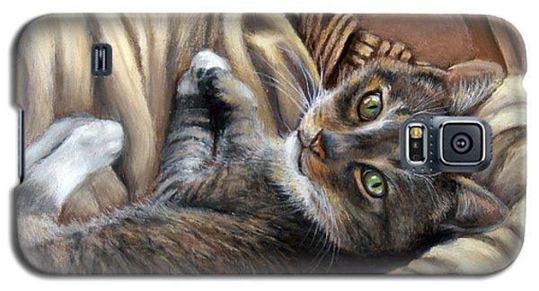 Cat In A Basket Galaxy S5 Case