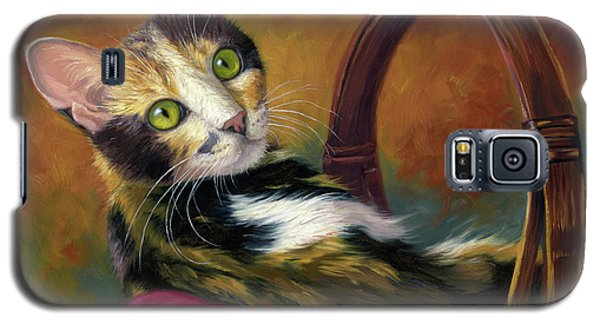 Cat In The Basket Galaxy S5 Case