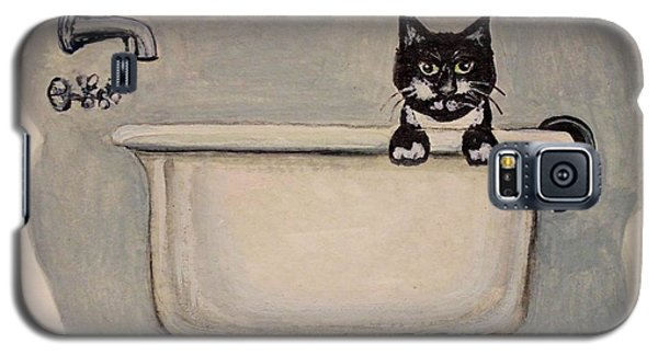 Cat In The Bathtub Galaxy S5 Case