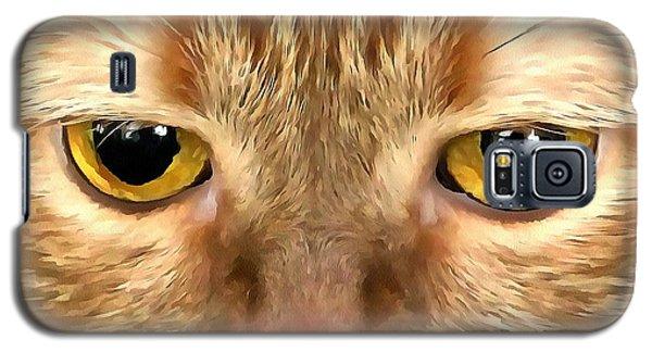 Cat Musya Galaxy S5 Case by Sergey Lukashin