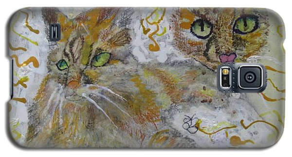 Cat Named Phoenicia Galaxy S5 Case