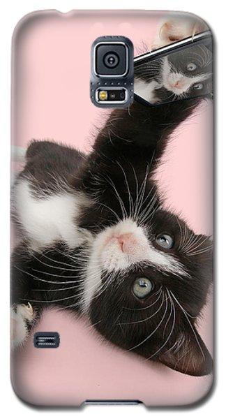 Cat Selfie Galaxy S5 Case