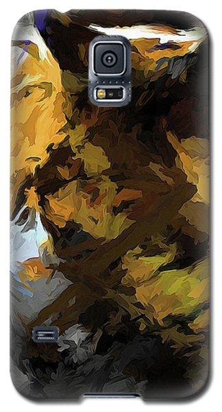 Cat Sleep Shadow Galaxy S5 Case