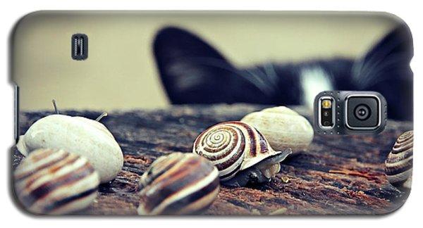 Cat Snails Galaxy S5 Case