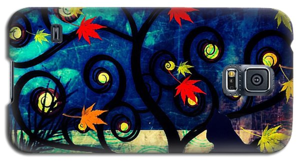 Cat Watch  Galaxy S5 Case by Kim Prowse