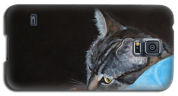 Cat With Red Yarn Galaxy S5 Case