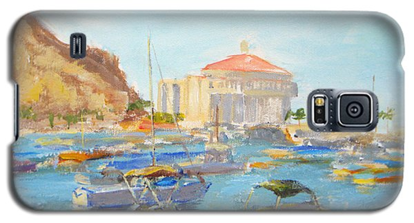 Catalina Casino In The Light Galaxy S5 Case