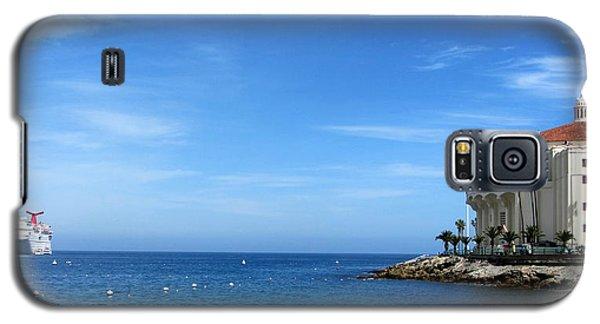 Catalina Island Casino Galaxy S5 Case