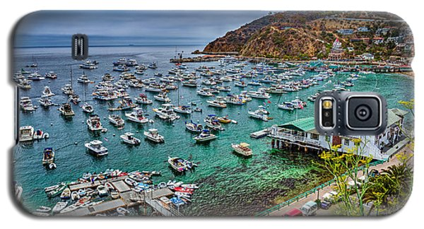 Catalina Island  Avalon Harbor Galaxy S5 Case by David Zanzinger