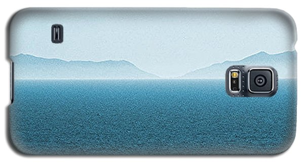 Catalina Island Large Panoramic Color Fine Art Print On Metal Galaxy S5 Case by Ben and Raisa Gertsberg