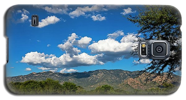 Galaxy S5 Case featuring the photograph Catalina Mountains H48 by Mark Myhaver